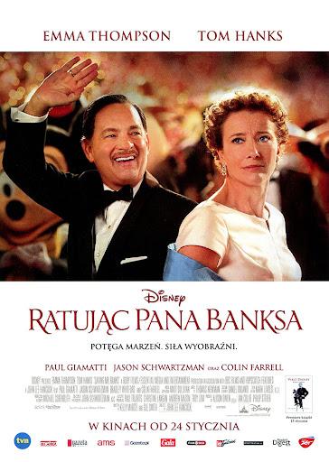 Przód ulotki filmu 'Ratując Pana Banksa'