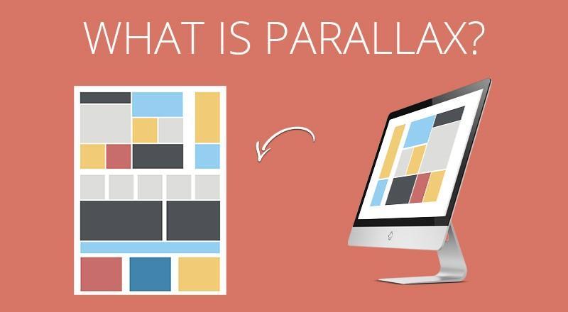Parallax design (Scrolling)