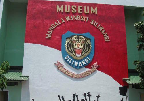Museum of Mandala Wangsit Siliwangi at Lembong Street, Bandung.