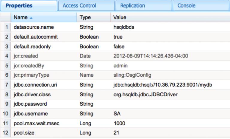 External Database