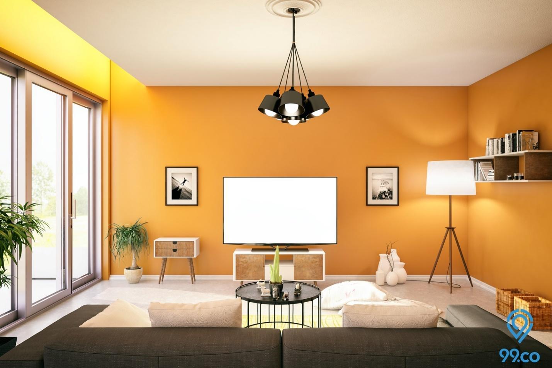 12 Contoh Warna Cat Rumah Modern Tahun 2020