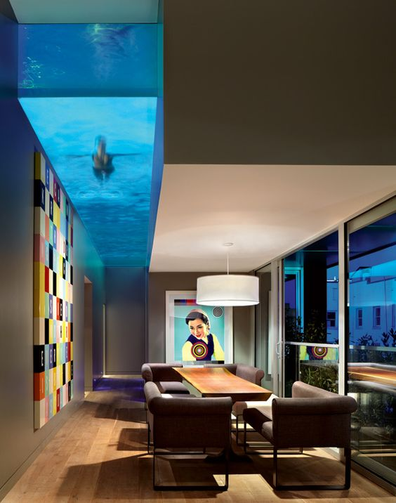 Thiết kế nhà biệt thự bể bơi tầng thượng
