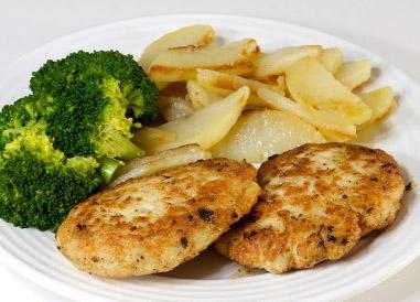 طرز تهیه کتلت مرغ خوشمزه به صورت سالم و رژیمی