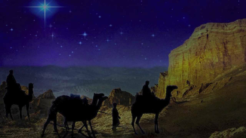 The journey of the Magi and the birth of Jesus