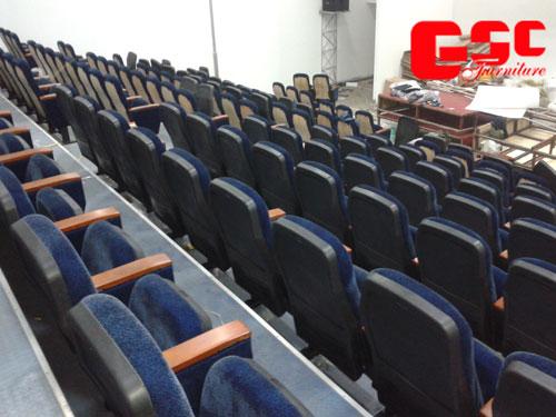 Một số hình ảnh ghế hội trường nhập khẩu do GSC cung cấp