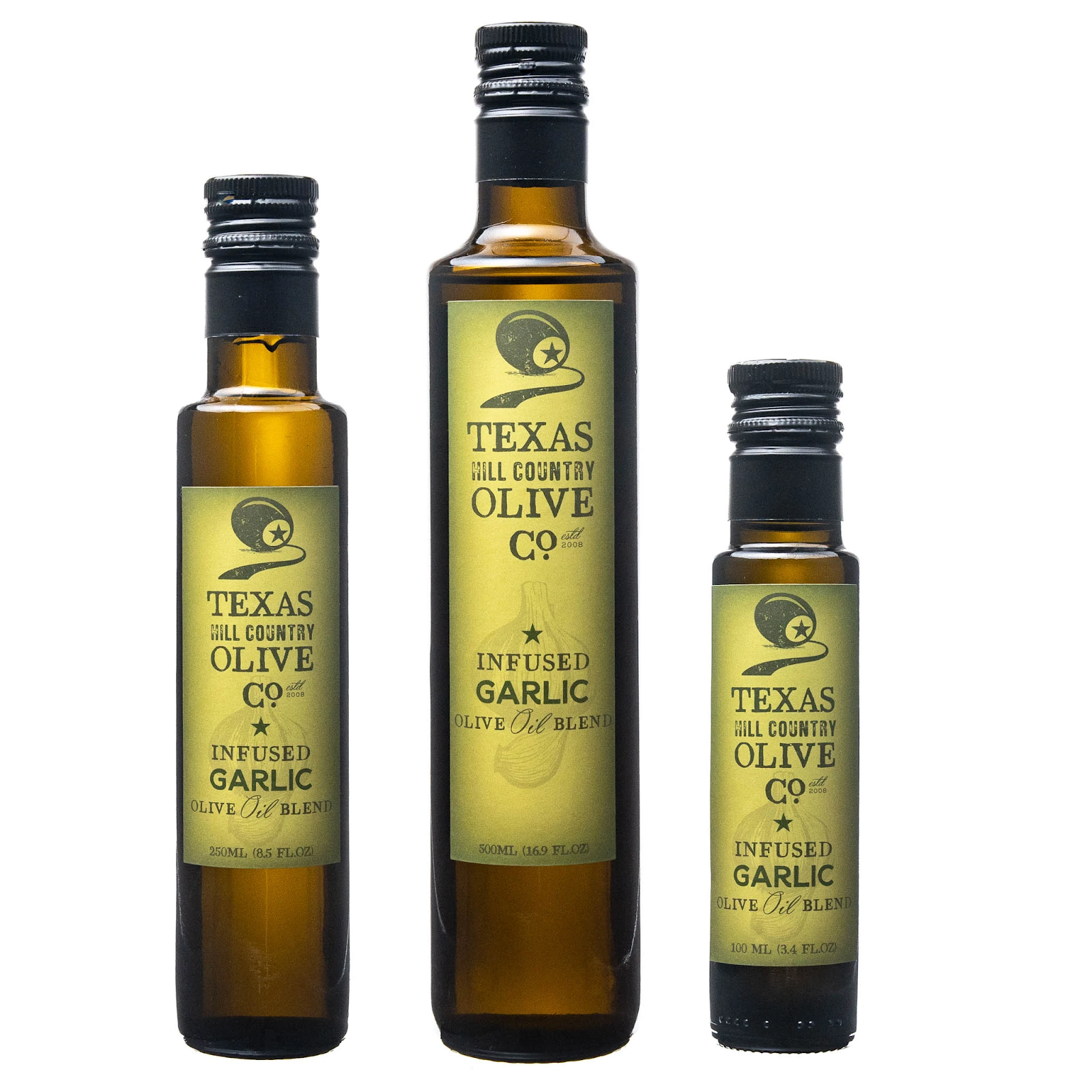 Garlic Infused Texas Olive Oil