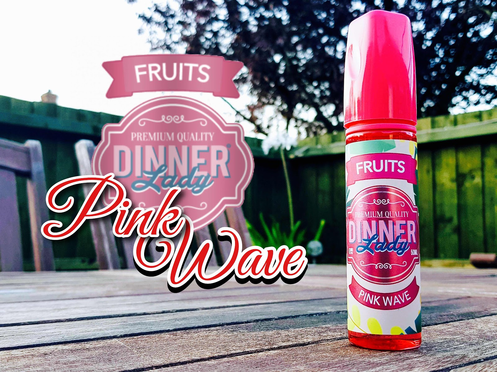 Dinner Lady Fruits Pink Wave Ejuice Review
