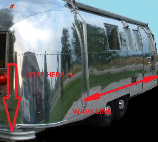 wave effect on airstream