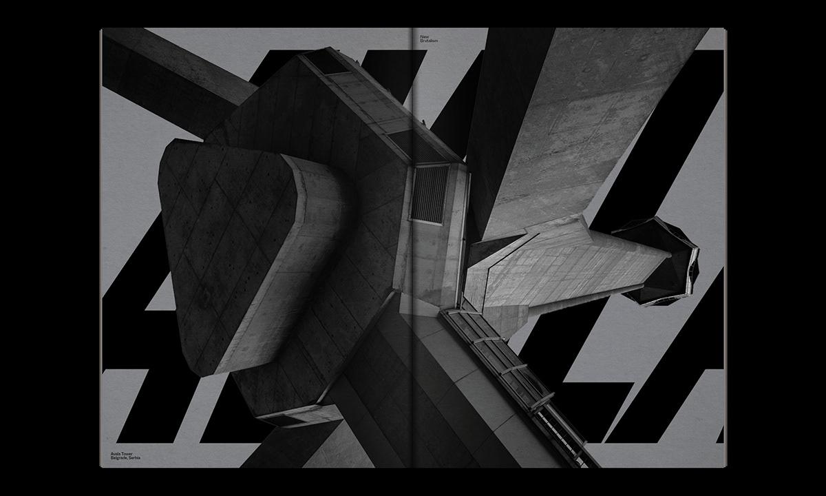 Editorial Design : New Brutalism Controversial Concrete 39