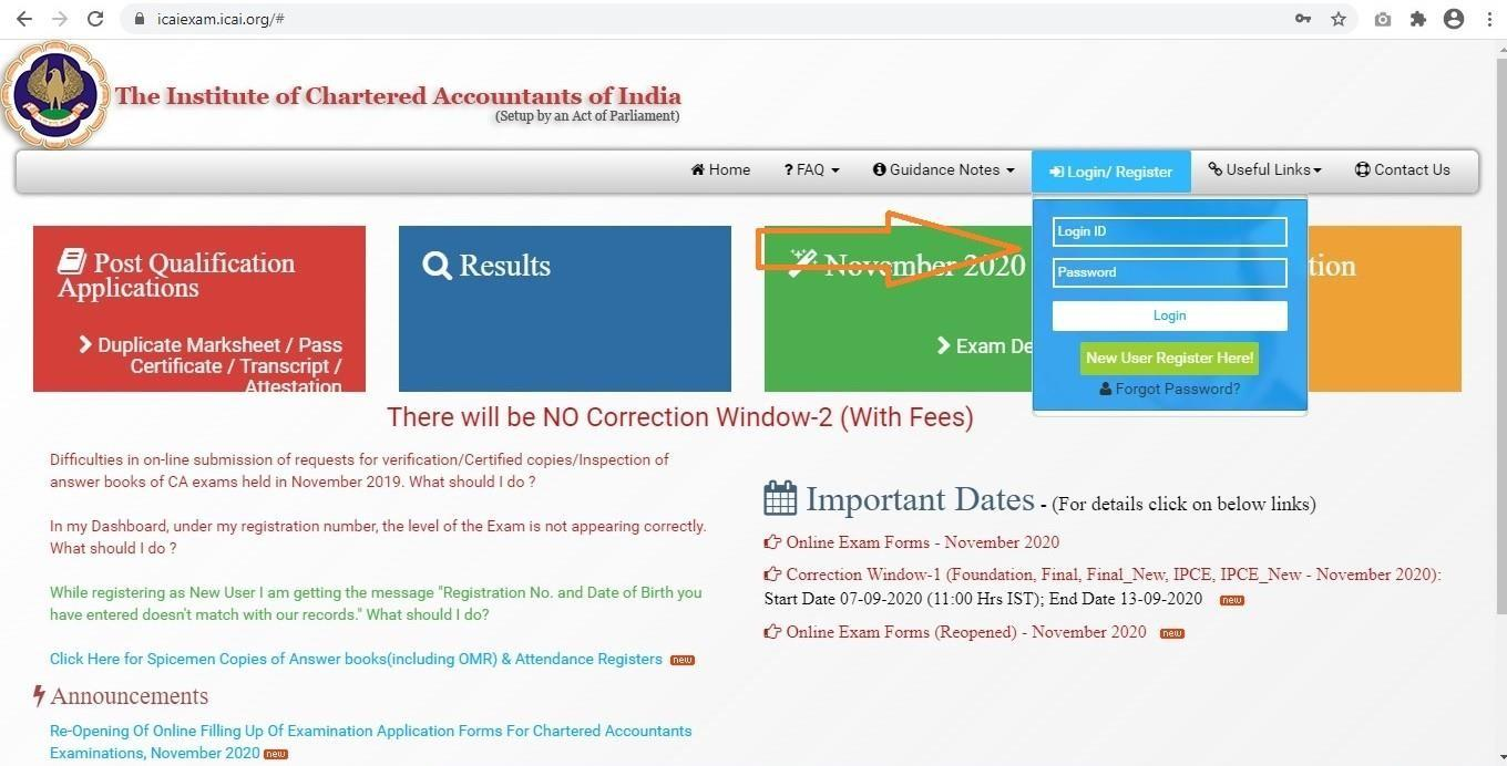 CA Jan 2021 Exams | Admit Cards are out | Have you downloaded it yet?? 3