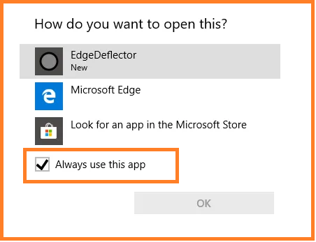 Stop All Redirects from Microsoft Edge to Disable Microsoft Edge in Windows 10