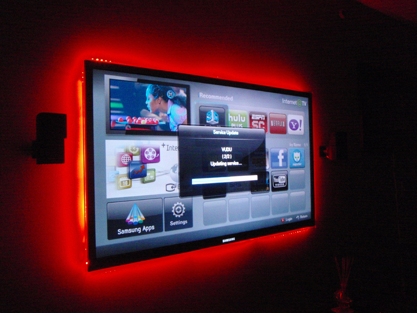 Cabinet tv bar car auto led strip light w remote control flexible white blue yellow multicolor aloadofball Choice Image