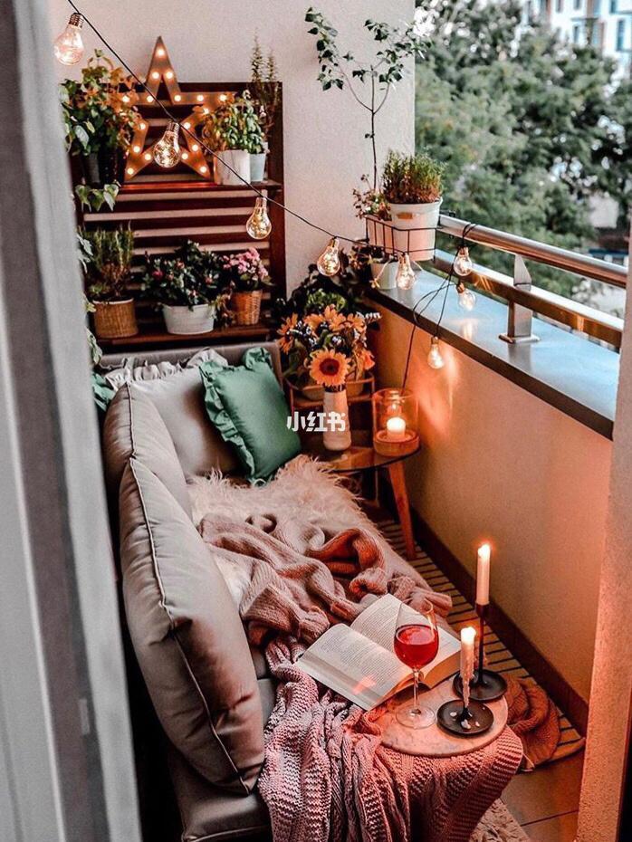 把露台进行打造,这温暖又有气质的露台 Make your balcony into an instagram worthy spot