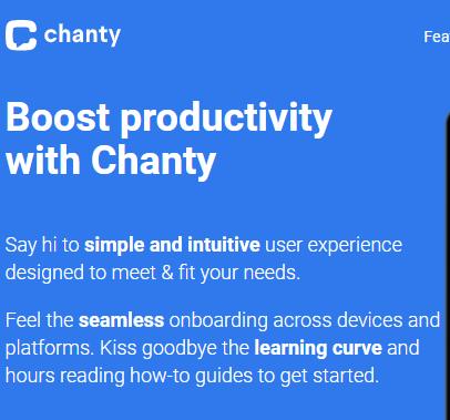 Chanty - Product Description