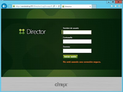 Acceso a Citrix Director