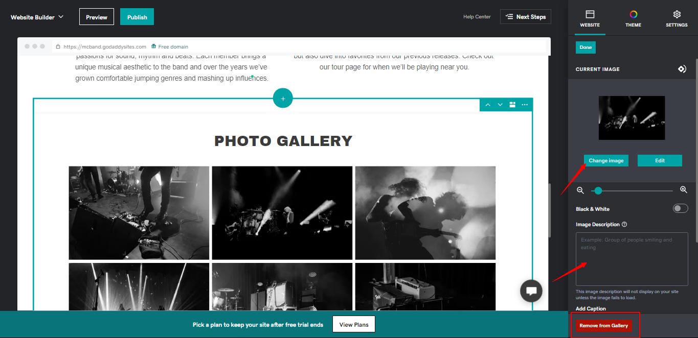 GoDaddy Free Website Builder