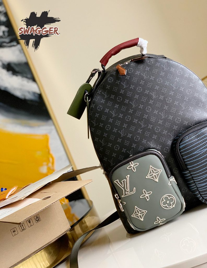 Mẫu Balo Louis Vuitton Backpack Multipocket Like Authentic