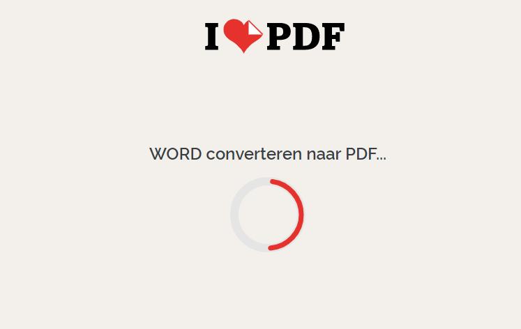 Word naar pdf 8
