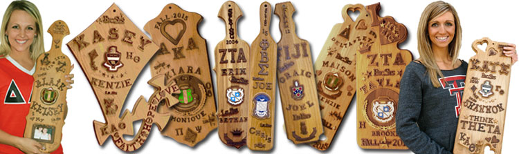 Greek Fraternity Paddle Kits - Greek Sorority Paddles Kits