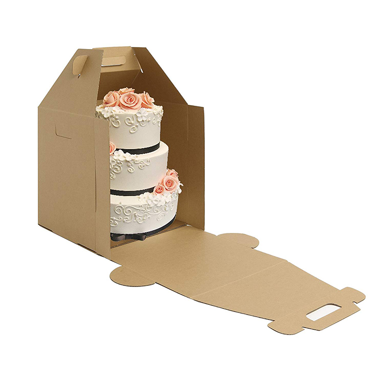 hộp giấy đựng bánh sinh nhật 3 tầng
