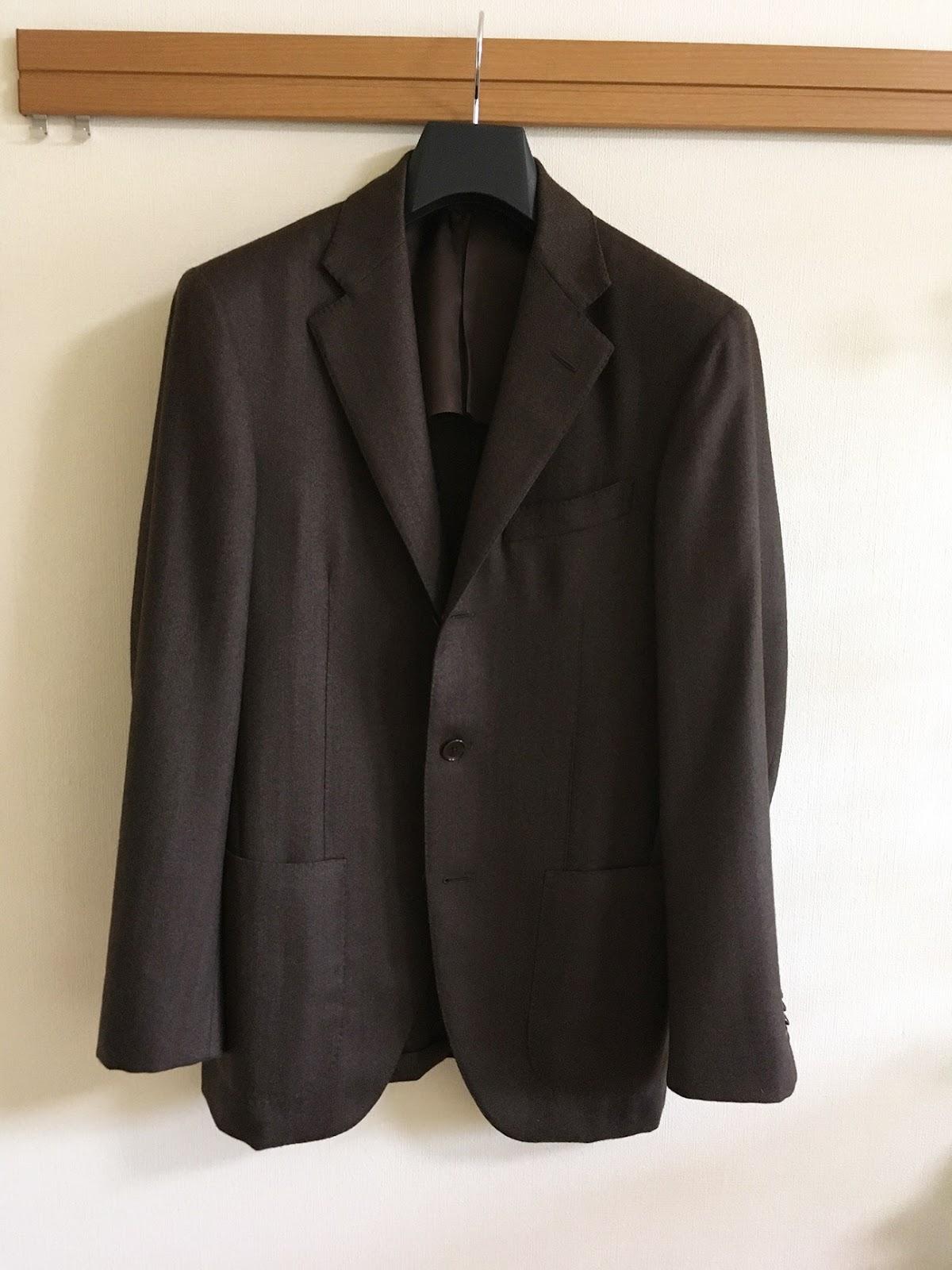 ワードローブトリートメントでスーツがとてもきれいになった事例