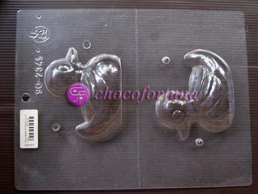 cetakan cokelat coklat bebek hewan binatang 90-2349