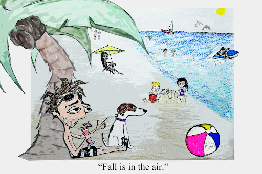 Beached Comic #4: Fall In The Air