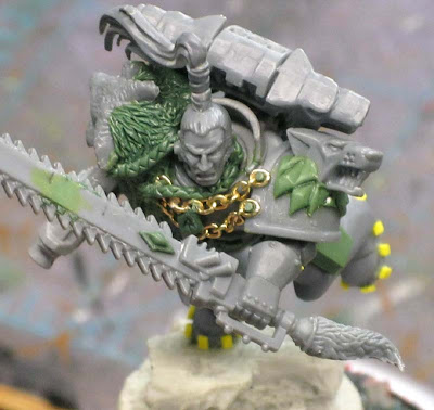 Space Wolf Ragnar Blackmane conversion