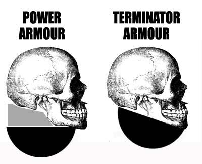 Terminator skull helmet styles