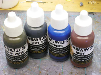 Secret Weapon miniatures washes
