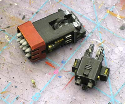 Space marine drop pod weapons