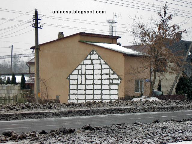 дом в доме, интересный дом, реконструкция дома