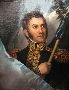 Don José Francisco de San Martín y Matorras