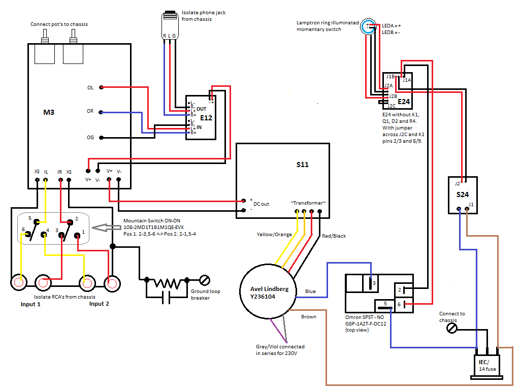 Amb Laboratories Diy Audio View Topic M3 Or Ckkiii Pros And Cons E24 Wiring Diagrams Link To Larger Picture Here