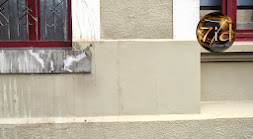infiltration d'eau de pluie en façade d'immeuble