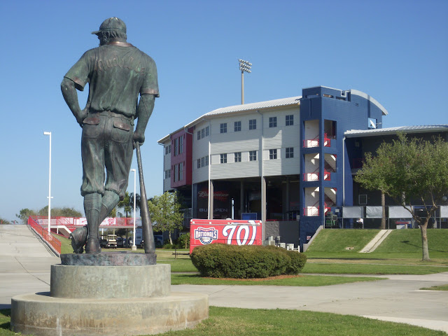 Casey at the Bat statue