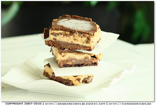 "Peanut Butter Cookie And Cream Cheese ""Candy"" Bars Recipe — Dishmaps"