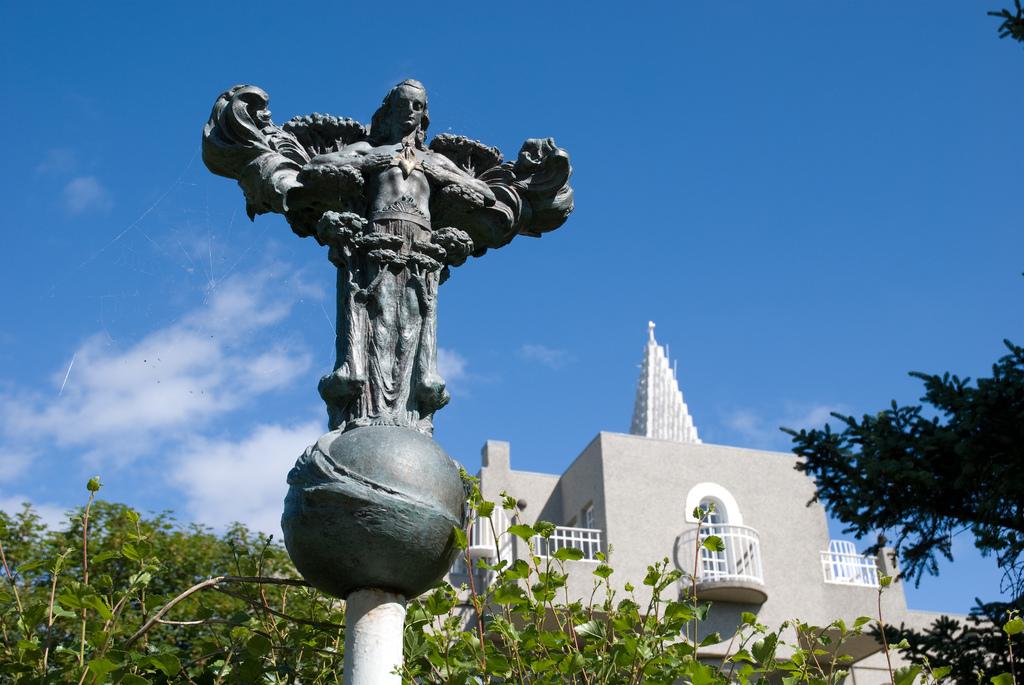 A sculpture by Einar Jonsson, downtown Reykjavik.