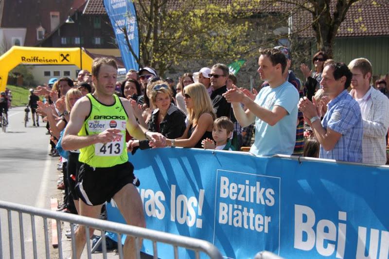 Franz Ellmauer,LG ST. Wolfgang,Sieger des Halbmarathon 2011