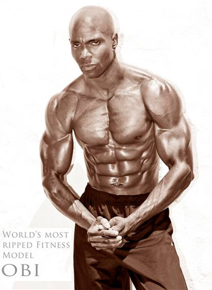 OBI World's Most Ripped Fitness Male Model