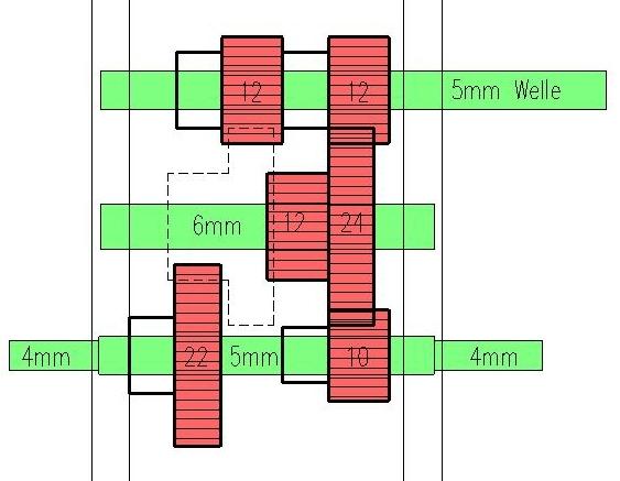 fragen zu 2 gang getriebe antrieb chassis und fahrwerk. Black Bedroom Furniture Sets. Home Design Ideas