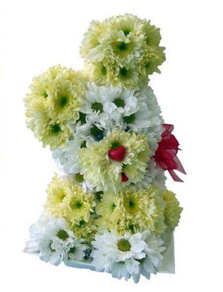 Arte con flores Cosita
