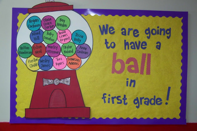 Welcome Your Students With A Big Colorful Bulletin Board