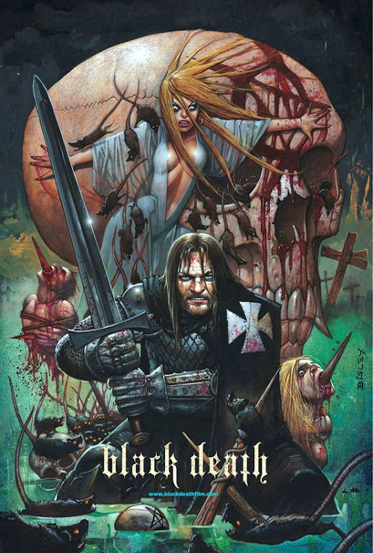 Black Death, new, movie, Poster