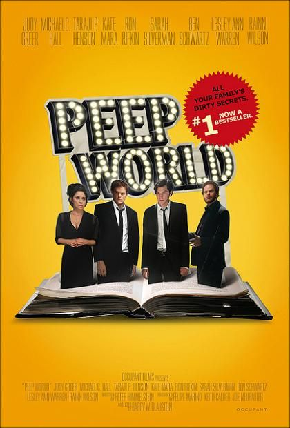 Peep World, 2011, movie, trailer, poster, synopsis