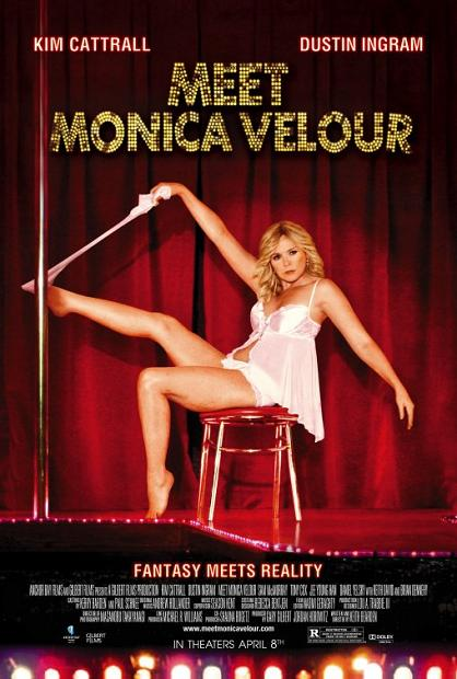 Meet Monica Velour, movie, poster