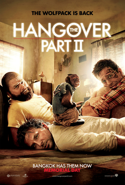 The Hangover Part 2, HO2, movie, poster, One Sheet