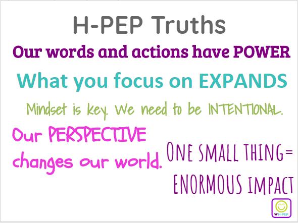 H-PEP Truths