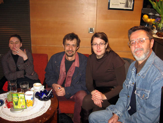 Jutro poezije, caffe 'Berka', ožujak 2011.