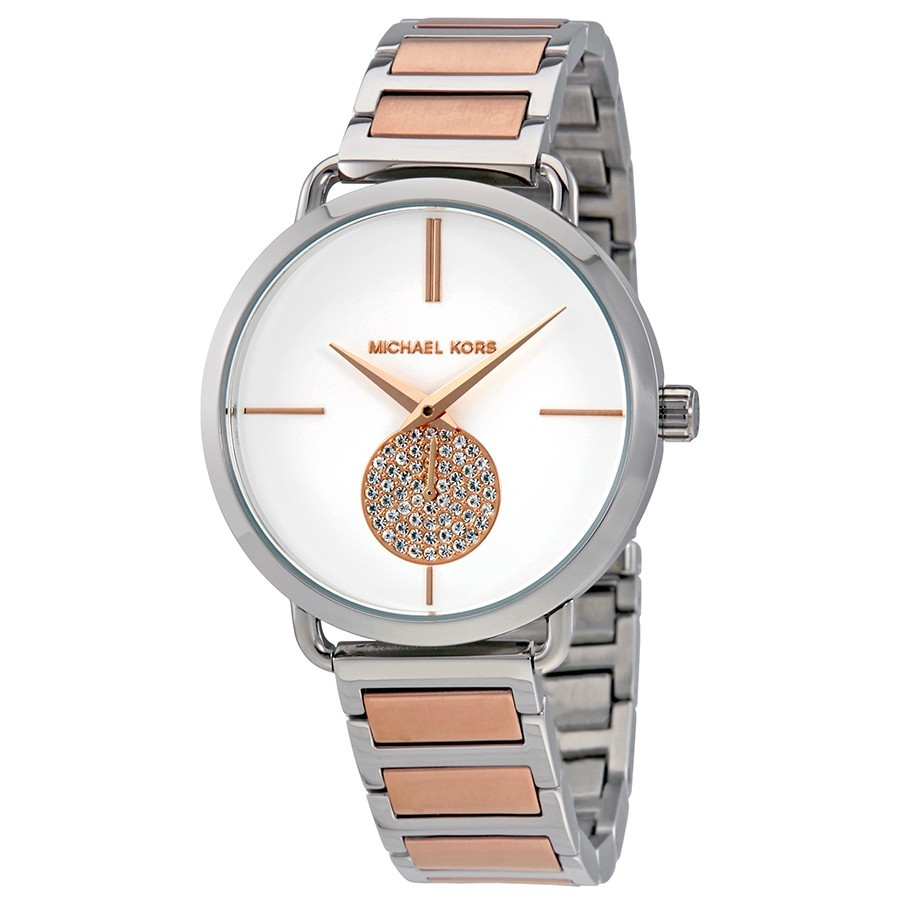 Michael Kors Portia Two-Tone Women's Watch